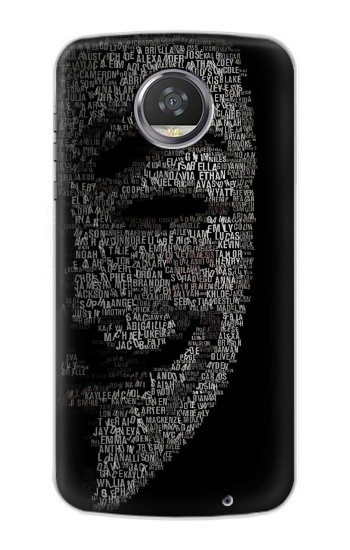 Printed V Mask Guy Fawkes Anonymous HTC Desire 310 Case