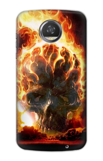 Printed Hell Fire Skull HTC Desire 310 Case