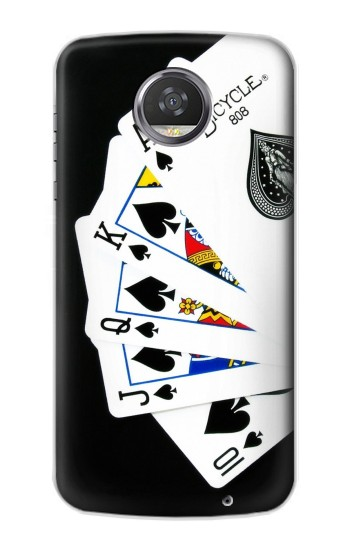 Printed Poker Royal Straight Flush HTC Desire 310 Case