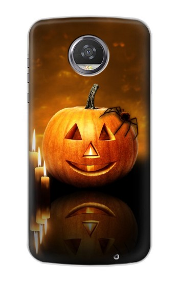 Printed Pumpkin Spider Candles Halloween HTC Desire 310 Case