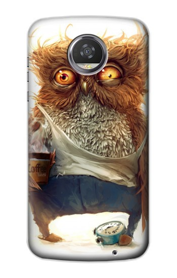 Printed Wake up Owl HTC Desire 310 Case