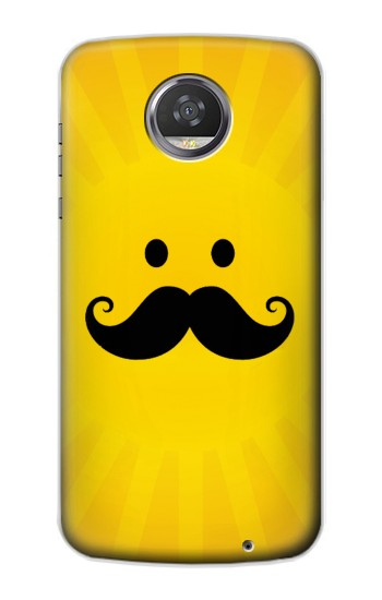 Printed Yellow Mustache Sun HTC Desire 310 Case