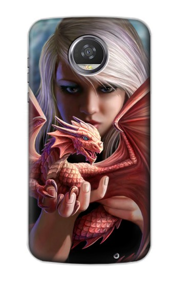 Printed Baby Red Fire Dragon HTC Desire 310 Case