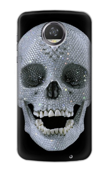 Printed Diamond Skull HTC Desire 310 Case