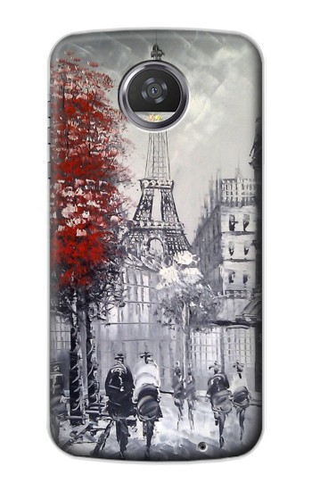 Printed Eiffel Painting of Paris HTC Desire 310 Case
