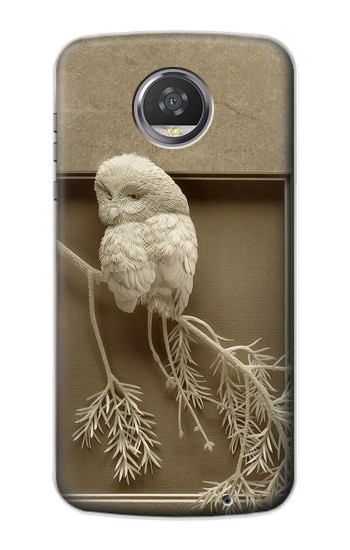 Printed Paper Sculpture Owl HTC Desire 310 Case