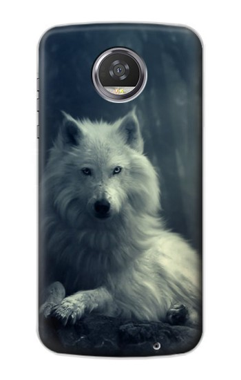 Printed White Wolf HTC Desire 310 Case