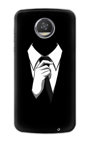 Printed Anonymous Man in Black Suit HTC Desire 310 Case