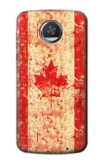 Printed Canada Flag Old Vintage HTC Desire 310 Case