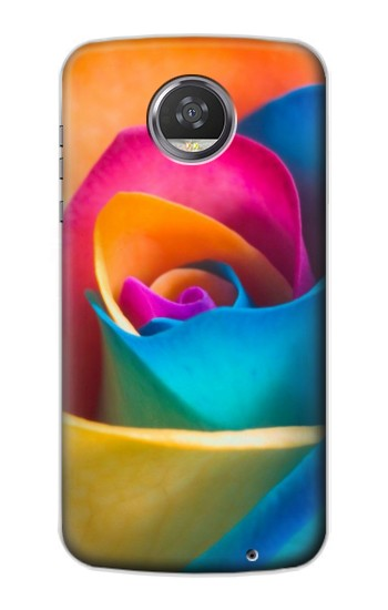Printed Rainbow Colorful Rose HTC Desire 310 Case