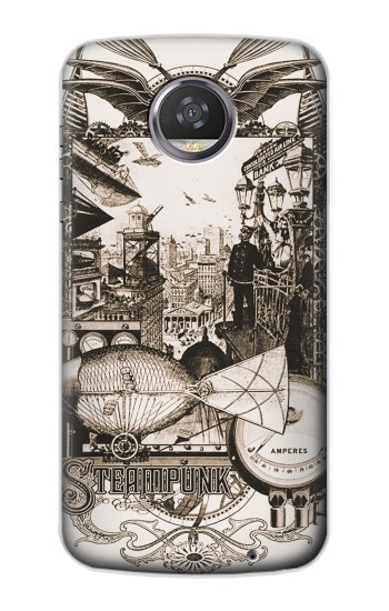 Printed Steampunk Drawing HTC Desire 310 Case