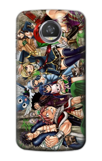 Printed Fairy Tail Guild Members HTC Desire 310 Case