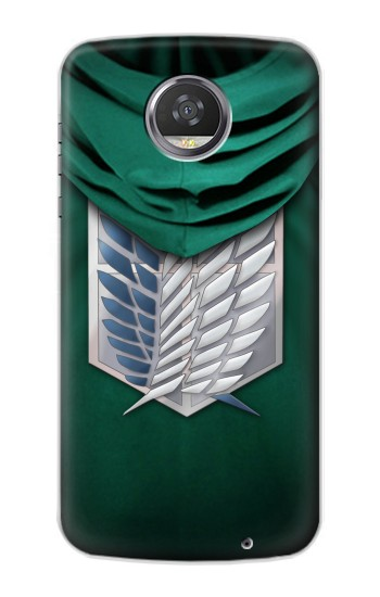 Printed Attack on Titan Scouting Legion Rivaille Green Cloak HTC Desire 310 Case