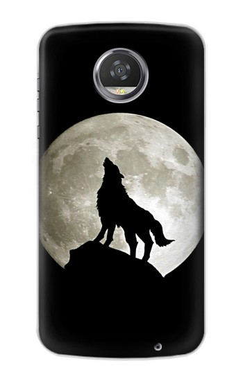 Printed Wolf Howling at The Moon HTC Desire 310 Case