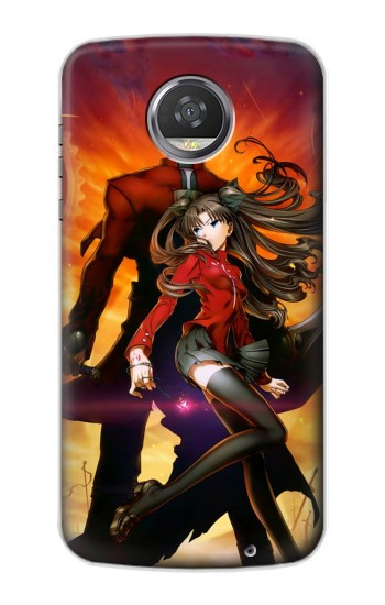 Printed Fate Stay Night Archer Tohsaka Rin Unlimited Blade Works HTC Desire 310 Case