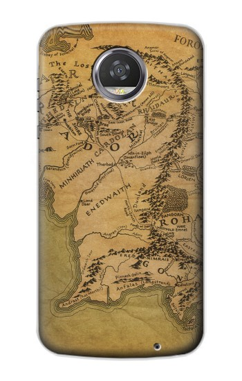 Printed The Lord Of The Rings Middle Earth Map HTC Desire 310 Case