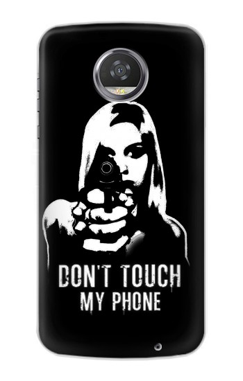 Printed Girl Do Not Touch My Phone HTC Desire 310 Case