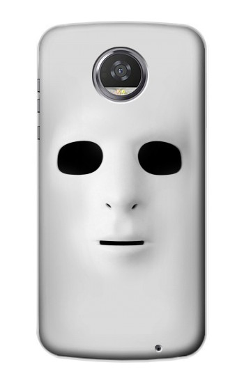 Printed White Face Mask HTC Desire 310 Case