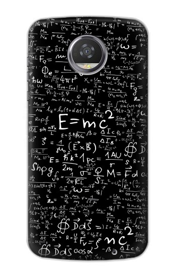 Printed Mathematics Physics Blackboard Equation HTC Desire 310 Case