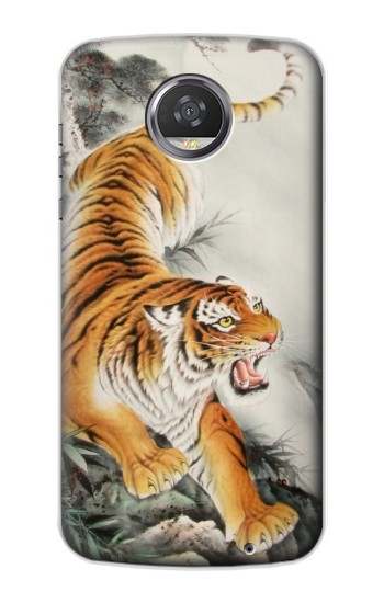 Printed Chinese Tiger Tattoo Painting HTC Desire 310 Case
