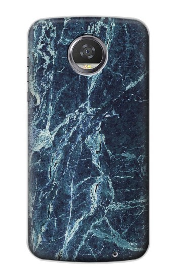 Printed Light Blue Marble Stone Texture Printed HTC Desire 310 Case