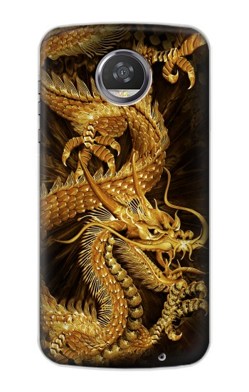 Printed Chinese Gold Dragon Printed HTC Desire 310 Case
