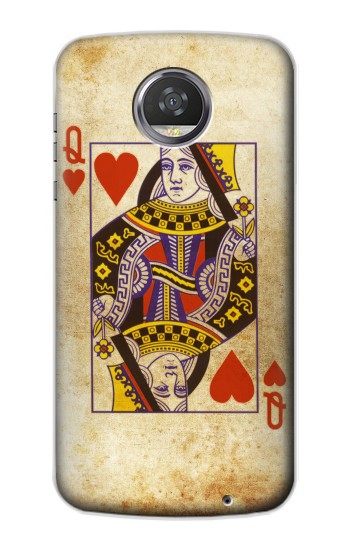 Printed Poker Card Queen Hearts HTC Desire 310 Case