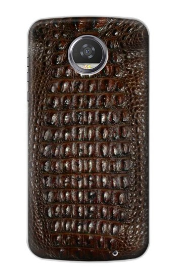 Printed Brown Skin Alligator Graphic Printed HTC Desire 310 Case