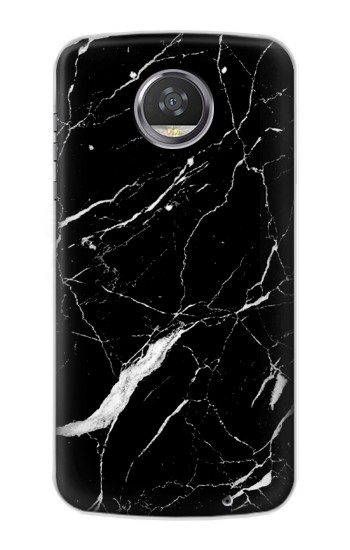 Printed Black Marble Graphic Printed HTC Desire 310 Case