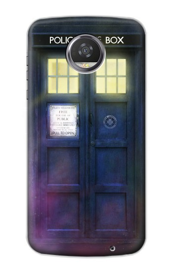 Printed Tardis Phone Box HTC Desire 310 Case