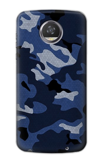 Printed Navy Blue Camouflage HTC Desire 310 Case