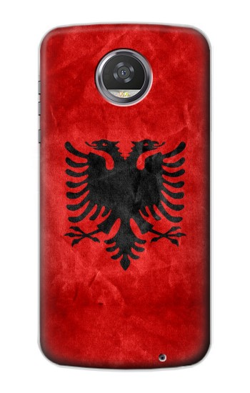Printed Albania Red Flag HTC Desire 310 Case