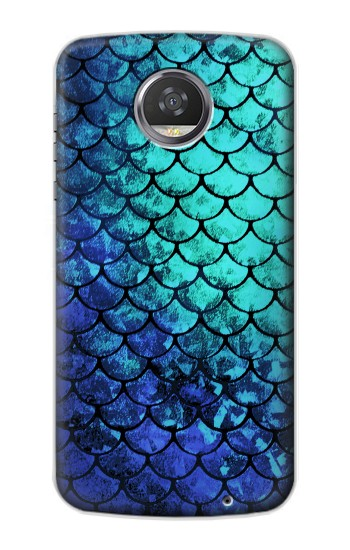Printed Green Mermaid Fish Scale HTC Desire 310 Case