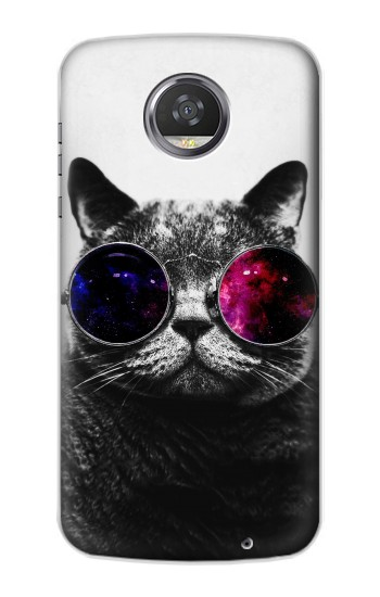 Printed Cool Cat Glasses HTC Desire 310 Case