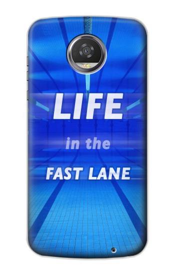 Printed Life in the Fast Lane Swimming Pool HTC Desire 310 Case