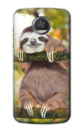 Printed Cute Baby Sloth Paint HTC Desire 310 Case