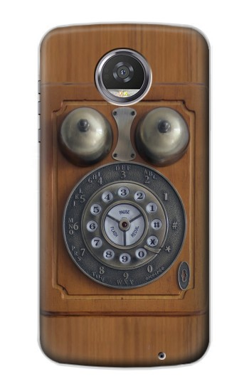 Printed Antique Wall Phone HTC Desire 310 Case