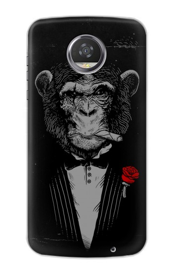 Printed Funny Monkey God Father HTC Desire 310 Case