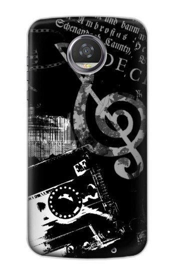 Printed Music Cassette Note HTC Desire 310 Case