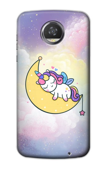 Printed Cute Unicorn Sleep HTC Desire 310 Case