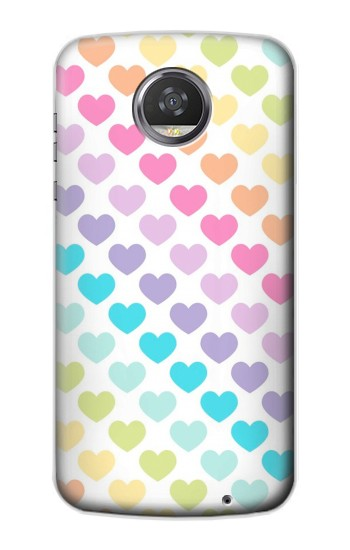 Printed Colorful Heart Pattern HTC Desire 310 Case