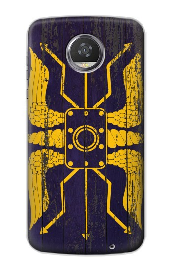Printed Roman Shield Blue HTC Desire 310 Case