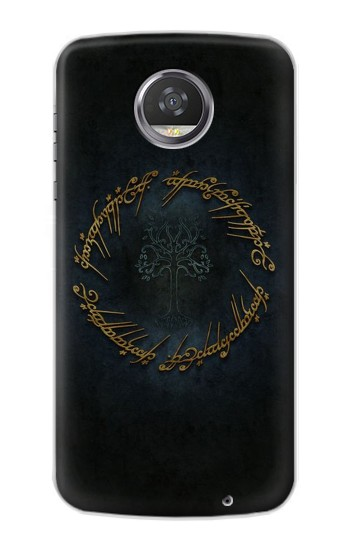 Printed Lord of The Rings Ring Elf Writing HTC Desire 310 Case