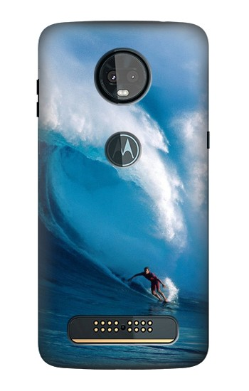 Printed Hawaii Surf Motorola Moto Z3, Z3 Play Case