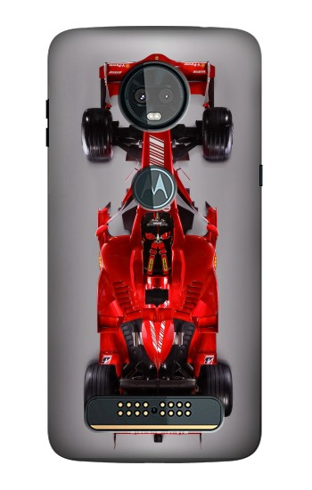 Printed Formula One Racing Car Motorola Moto Z3, Z3 Play Case