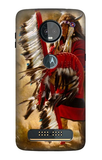 Printed Red Indian Motorola Moto Z3, Z3 Play Case