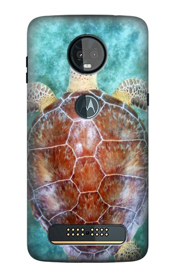 Printed Sea Turtle Motorola Moto Z3, Z3 Play Case