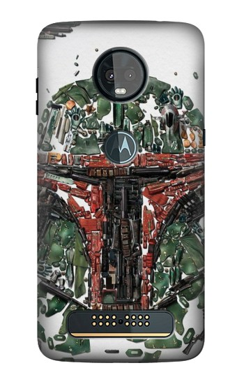 Printed Star War Soldier Motorola Moto Z3, Z3 Play Case
