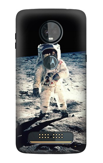 Printed Neil Armstrong First Man on The Moon Motorola Moto Z3, Z3 Play Case