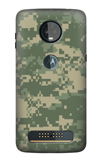 Printed Digital Camo Camouflage Graphic Printed Motorola Moto Z3, Z3 Play Case